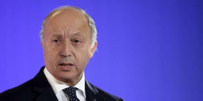 Laurent Fabius a annoncé le dépôt d'un projet de résolution sur la Syrie devant le Conseil de sécurité de l'ONU.