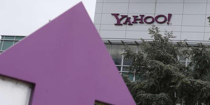 Le siège de Yahoo, à Sunnyvale, en Californie.