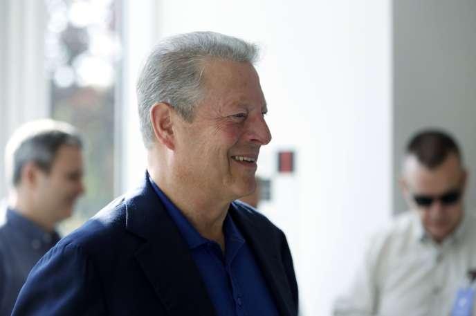 Al Gore, le 10 septembre à Cupertino, en Californie.