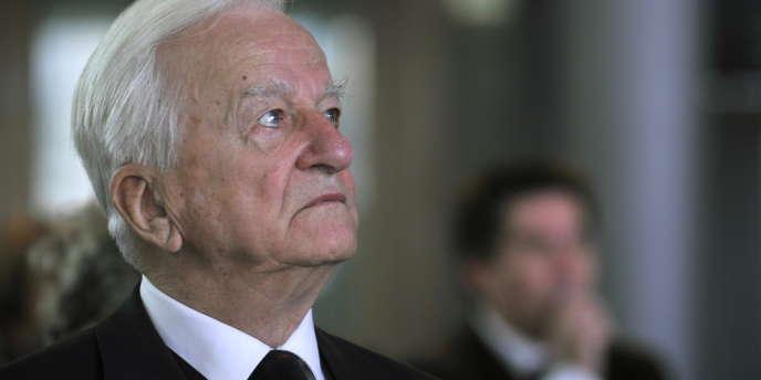 L'ancien président allemand Richard Von Weizsäcker.