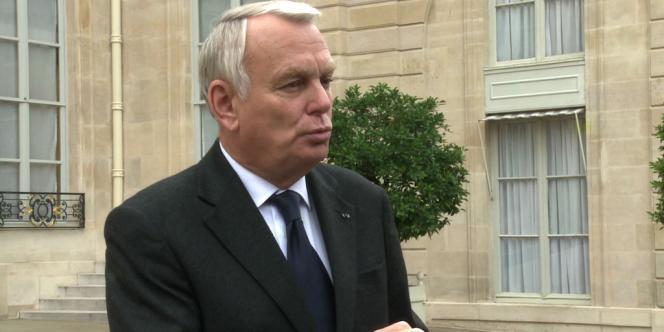 Le premier ministre, Jean-Marc Ayrault, a