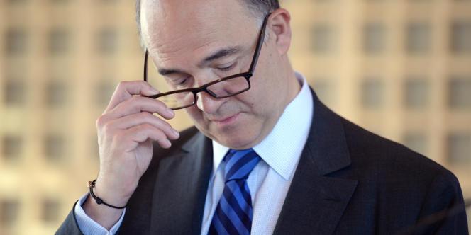 Pierre Moscovici, ministre de l'économie et des finances, le 18 juillet à Bercy.