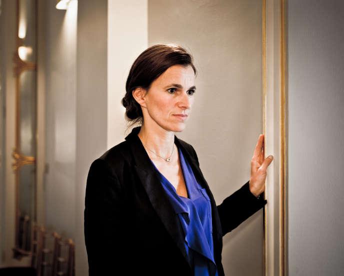 Aurélie Filippetti, ministre de la culture et de la communication, le 10 septembre 2013.
