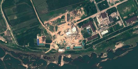 Image satellite du site nucléaire de Yongbyon en août 2012.