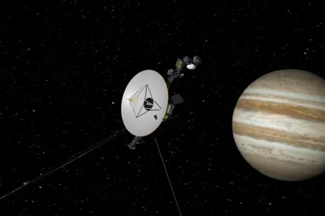 Image de synthèse de la sonde