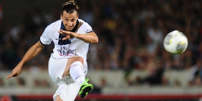Zlatan Ibrahimovic face à Bordeaux le 13 septembre.