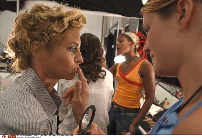 L'ex-top-modèle Sara Ziff (à gauche) a créé aux Etats-Unis une association de défense des mannequins.