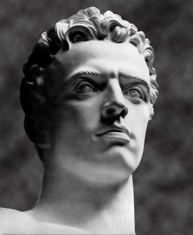 L'art selon Hitler : néoclassique et monumental. Détail d'une sculpture d'Arno Breker.