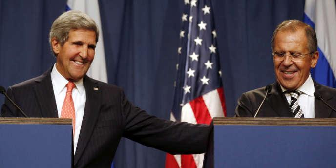 La Russie et les Etats-Unis sont tombés d'accord sur un plan d'élimination des armes chimiques syriennes.