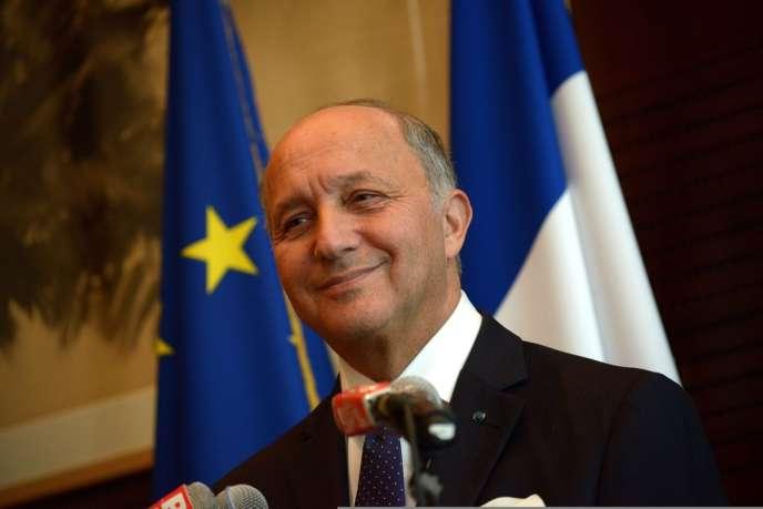 Le ministre français des affaires étrangères, Laurent Fabius, le 15 septembre 2013, à Paris.
