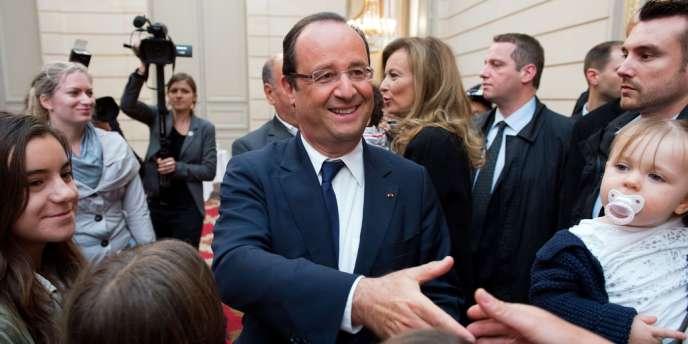 Le président François Hollande, le 14 septembre à Paris.