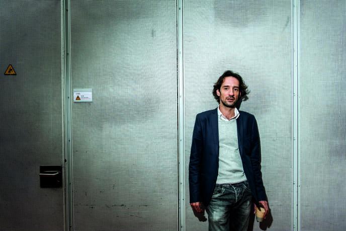 Le compositeur Sebastian Rivas en septembre, à l'Ircam (Paris).