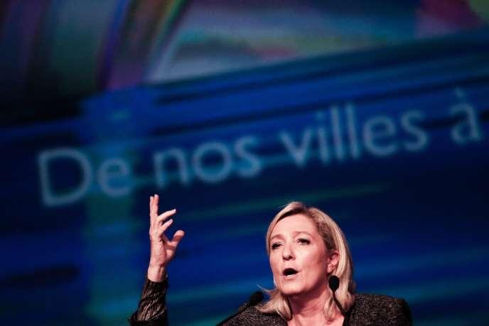 Marine Le Pen, à Marseille le 15 septembre 2013.