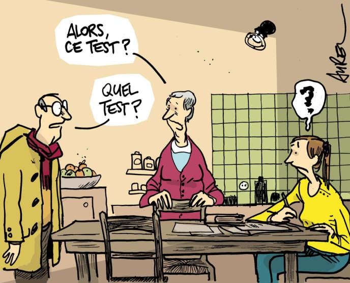 Entre 750 000 et 1 million de Français seraient touchés par la maladie d'Alzheimer.