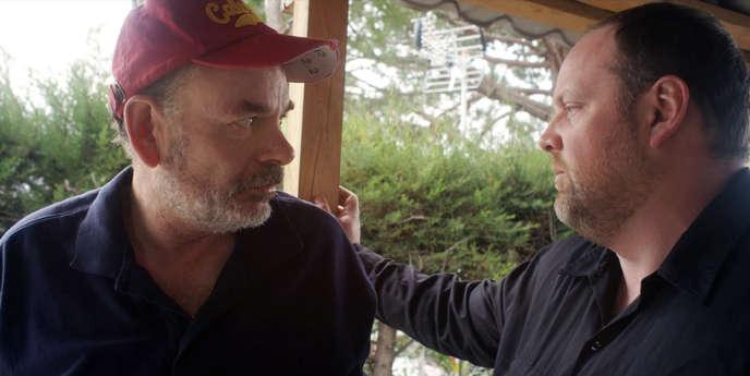 Jean-Pierre Darroussin et Grégory Gadebois dans le film français de François Dupeyron,