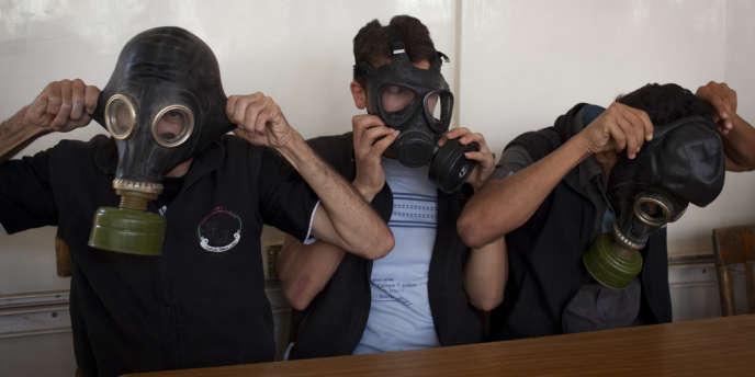 Le rapport des experts de l'ONU qui ont enquêté en Syrie sur le massacre chimique du 21 août fait état de