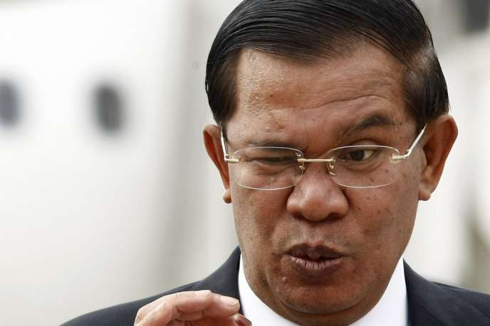 Le premier ministre cambodgien, Hun Sen, le 12 août 2013 à Phnom Penh.