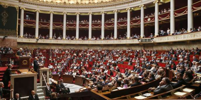 L'Assemblée nationale, le 4 septembre.