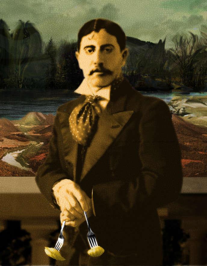 Marcel Proust vu par Jessy Dehais.