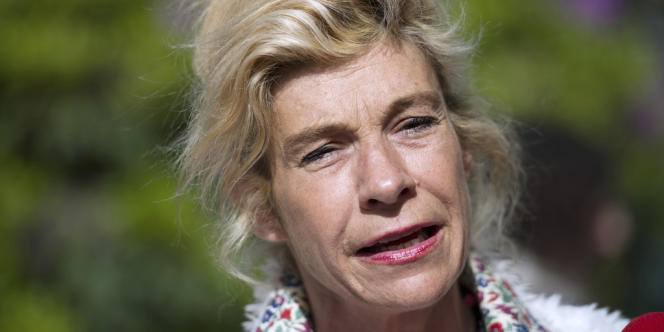 L'ancienne chef de file de la Manif pour tous, Frigide Barjot, le 29 mai 2013.