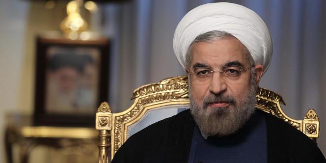 Le président iranien Hassan Rohani, en septembre à Téhéran.