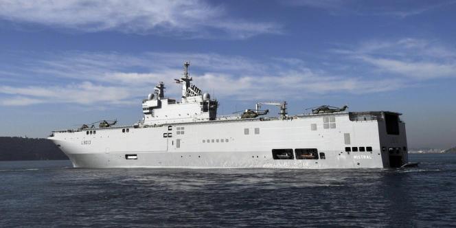 La France a suspendu la livraison du premier Mistral à la Russie, le 3 septembre.