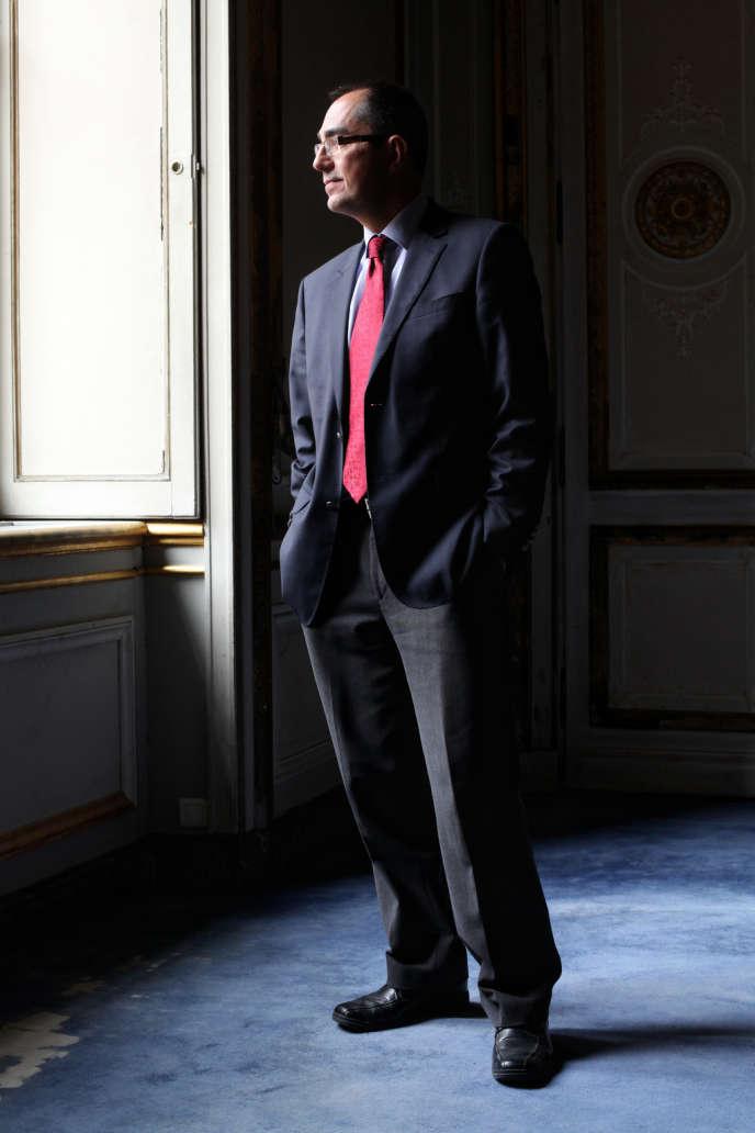 Jean-Luc Martinez au Louvre, le 17 septembre.