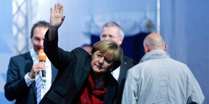 Angela Merkel, le 19 septembre à Augsburg.