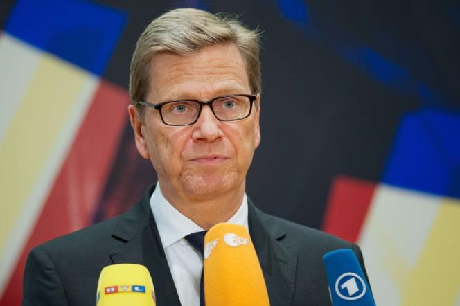 Le ministre des affaires étrangères, Guido Westerwelle, le 15 septembre.