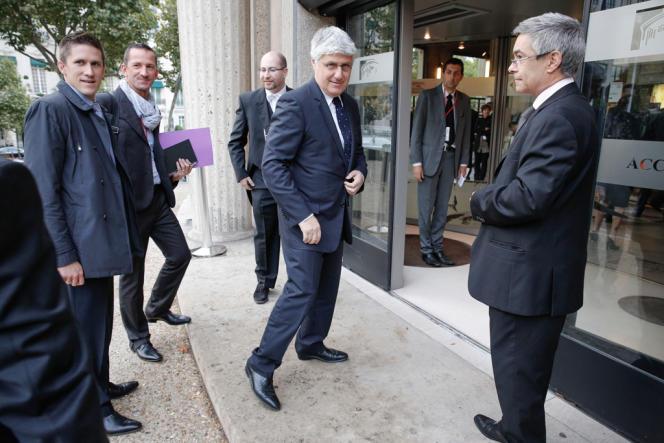 Le ministre de l'écologie Philippe Martin devant le Conseil Économique et Social, vendredi 20 septembre.