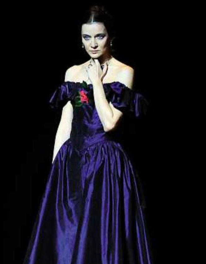 La danseuse étoile Agnès Letestu dans