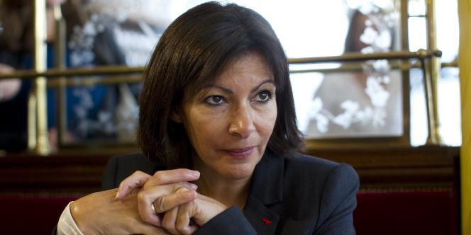 La candidate socialiste aux municipales parisiennes de 2014, Anne Hidalgo.