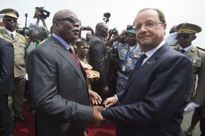 Ibrahim Boubacar Keita et François Hollande, le 19 septembre, à Bamako.