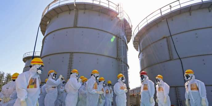 La compagnie Tepco a indiqué, vendredi 20 septembre, que le réservoir – duquel ont fui 300 tonnes d'eau radioactive il y a quelques semaines de la centrale endommagée de Fukushima – était mal assemblé.