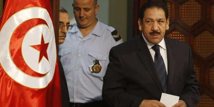 Le ministre de l'intérieur tunisien, Lotfi Ben Jeddou, en août à Tunis.