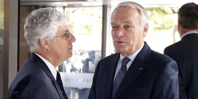 Jean-Marc Ayrault et le ministre de l'écologie et de l'énergie Philippe Martin assistaient à la deuxième conférence environnementale vendredi 20 septembre.