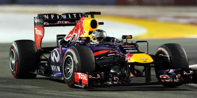 L'Allemand Sebastian Vettel, le 22 septembre à Singapour.
