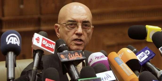 Mohamed Salmawy, porte-parole de l'Assemblée constituante égyptienne, le 22 septembre.