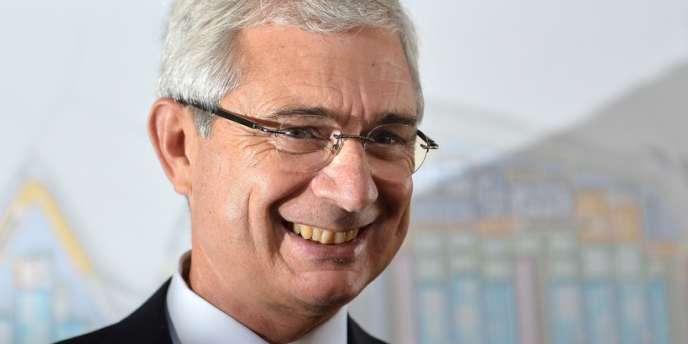 Claude Bartolone, président de l'Assemblée nationale, le 13septembre2013.