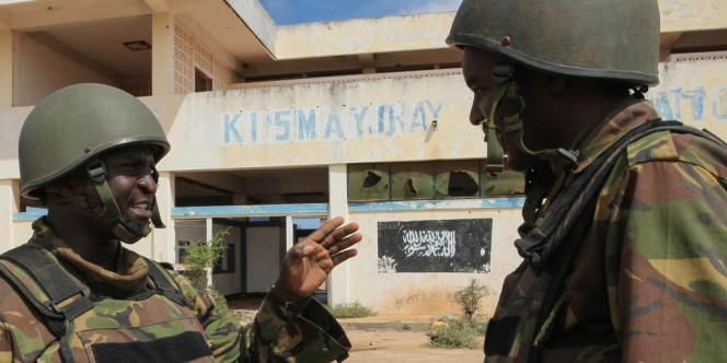 Des soldats de l'Amisom à Kismayo, le 2 octobre 2012.