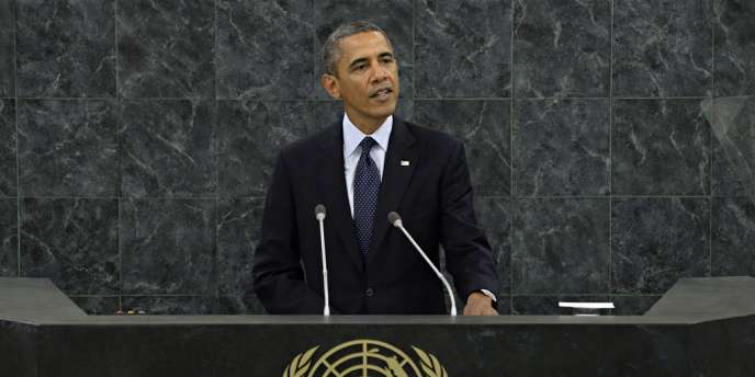 Barack Obama, à la tribune de l'ONU, à New York, mardi 24 septembre 2013.