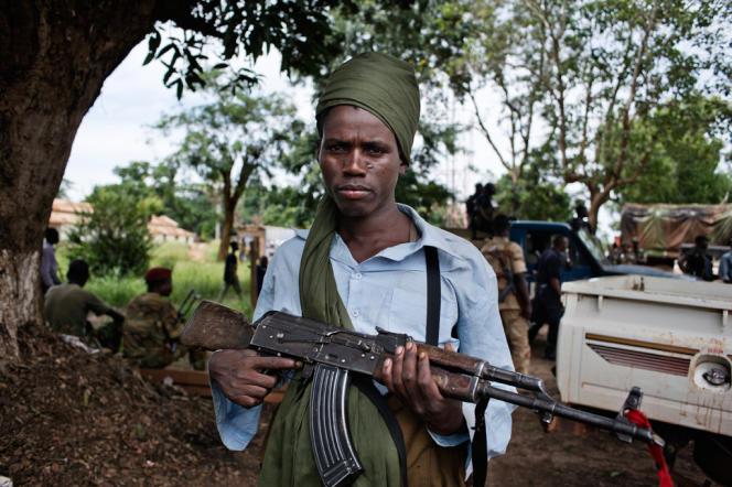Un milicien de l'ex-Séléka, le 23 septembre.
