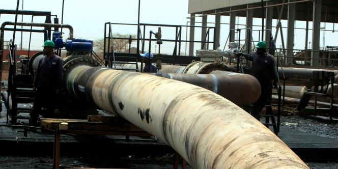 Le site pétrolier de Heglig, au Soudan, en mai 2012.