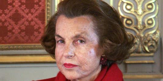 Liliane Bettencourt, en avril 2005.