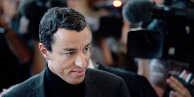 L'ex-avocat Karim Achoui au palais de justice de Paris, le 31 août 2013.