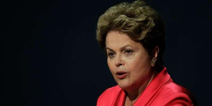 La président du Brésil Dilma Rousseff en septembre 2013.