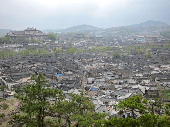 La vieille ville de Kaesong (Corée du Nord), en 2010.