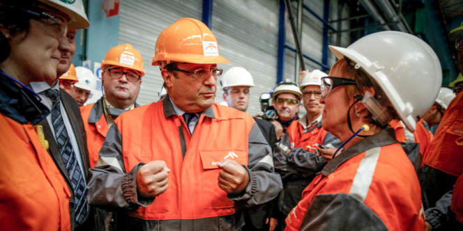 Plusieurs syndicats, qui ont rencontré le chef de l'Etat, ont dit espérer, à l'instar de la CGT-Florange,