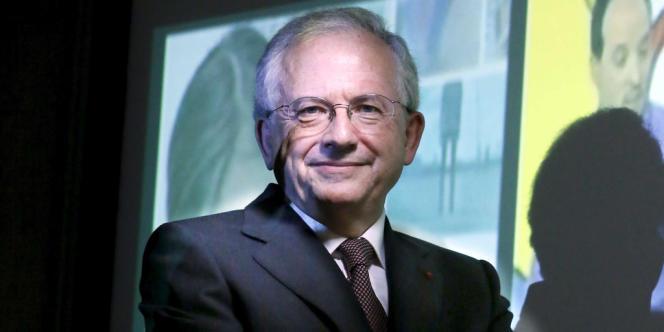Olivier Schrameck, président du Conseil supérieur de l'audiovisuel, en janvier 2013, à Paris.