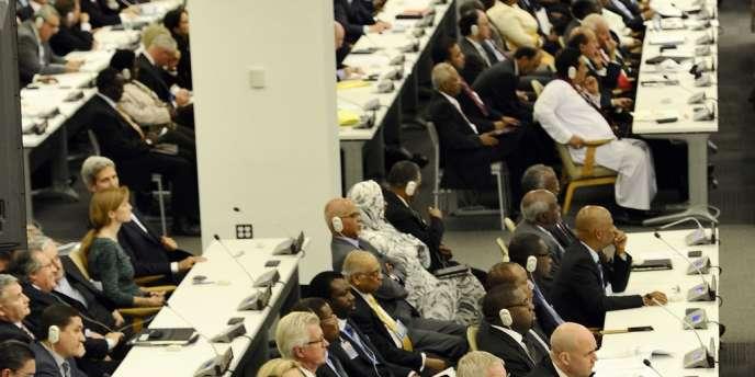 Discours de Barack Obama devant l'assemblée générale de l'ONU, le 24 septembre.